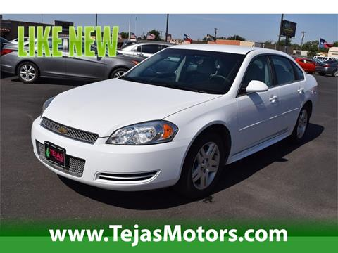 2016 Chevrolet Impala Limited for sale in Lubbock TX