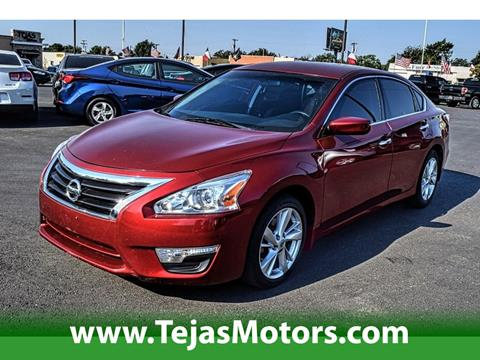 2014 Nissan Altima for sale in Lubbock TX