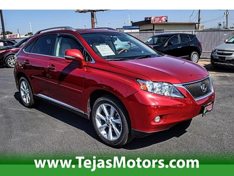 2010 Lexus RX 350 for sale in Lubbock TX