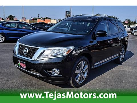 2013 Nissan Pathfinder for sale in Lubbock TX