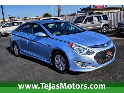 2013 Hyundai Sonata Hybrid for sale in Lubbock, TX