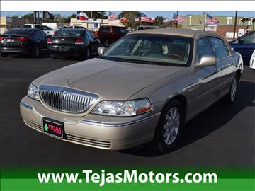 2009 Lincoln Town Car for sale in Lubbock, TX