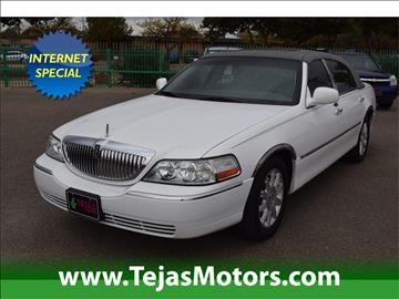 2006 Lincoln Town Car for sale in Lubbock, TX