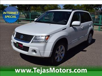 2011 Suzuki Grand Vitara for sale in Lubbock, TX