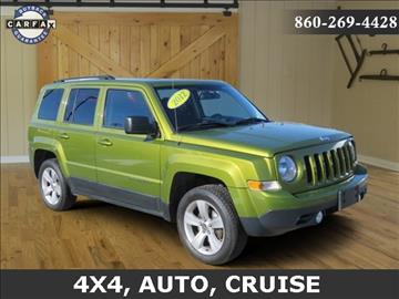 2012 Jeep Patriot for sale in Saybrook, CT