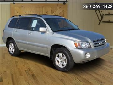 2005 Toyota Highlander for sale in Saybrook, CT
