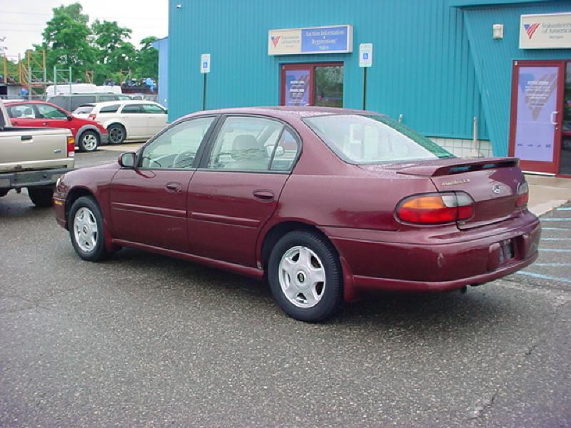 2001 Chevrolet Malibu Ls 4dr Sedan In Pontiac Mi Voa
