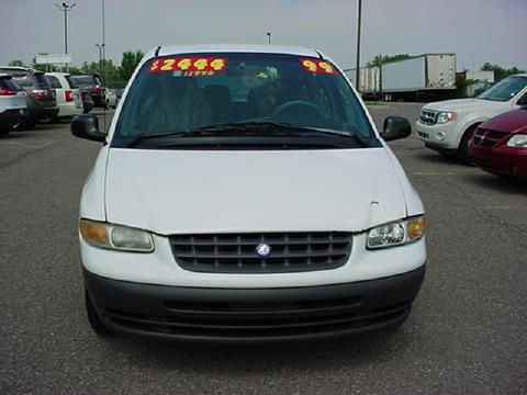 1999 Plymouth Voyager for sale in Pontiac, MI