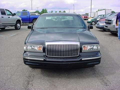 1996 Lincoln Town Car for sale in Pontiac, MI
