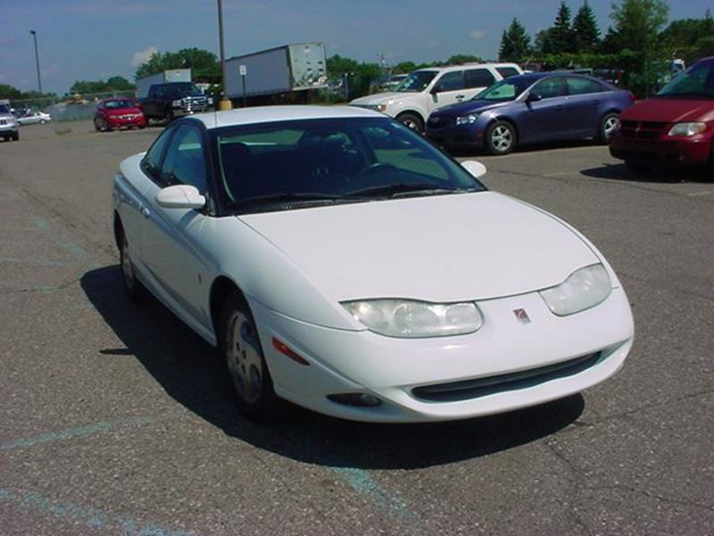 2002 Saturn S Series Sc2 3dr Coupe In Pontiac Mi Voa Auto Sales