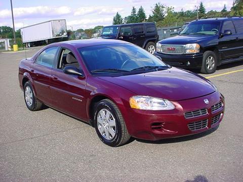 2001 Dodge Stratus for sale in Pontiac, MI