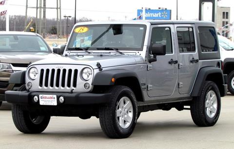 2015 Jeep Wrangler Unlimited for sale in Perryville, MO