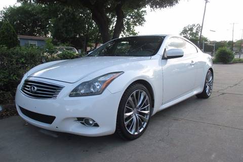 2012 Infiniti G37 Coupe for sale in Garland, TX