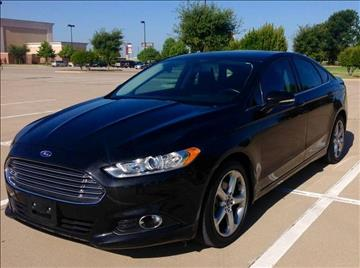2013 Ford Fusion for sale at Vemp Auto in Garland TX