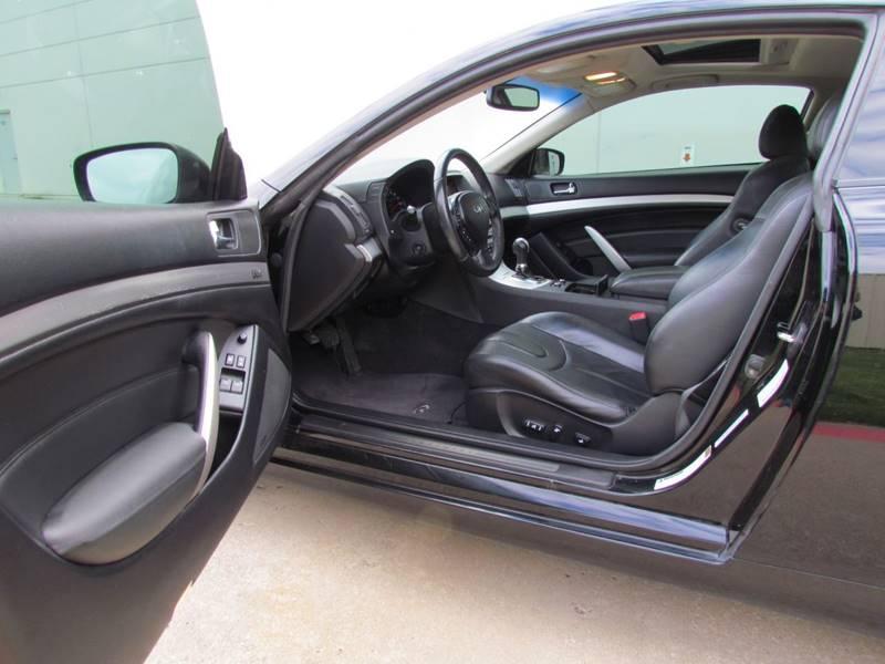 2009 Infiniti G37 Coupe AWD x 2dr Coupe - Dallas TX