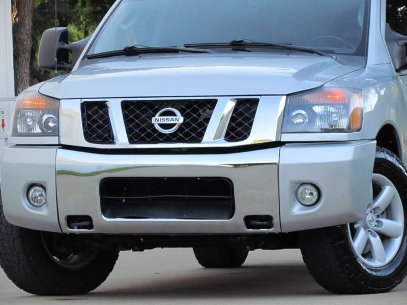 2011 Nissan Titan 4x2 SV 4dr Crew Cab SWB Pickup - Dallas TX