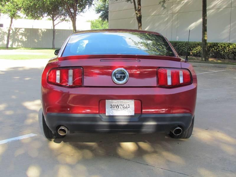 2010 Ford Mustang GT Premium 2dr Coupe - Dallas TX