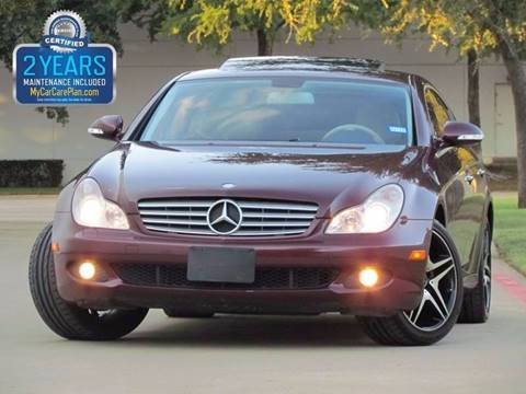 2007 Mercedes-Benz CLS for sale in Dallas, TX
