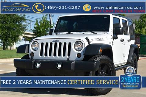 2011 Jeep Wrangler Unlimited for sale in Dallas, TX