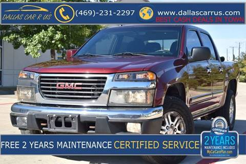 2009 GMC Canyon for sale in Dallas, TX