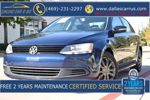 2011 Volkswagen Jetta for sale in Dallas, TX