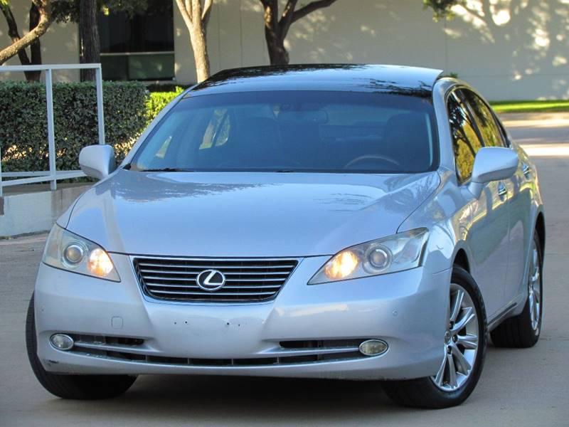 2007 Lexus ES 350 4dr Sedan   Dallas TX