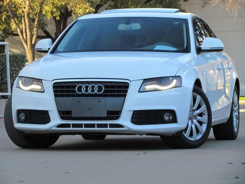 2009 Audi A4 20t Premium Plus 4dr Sedan Cvt In Dallas Tx Dallas
