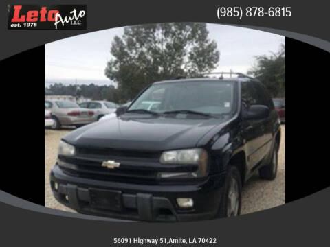 2005 Chevrolet TrailBlazer for sale at Leto Auto in Amite LA