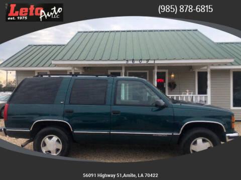 1997 GMC Yukon for sale at Leto Auto in Amite LA