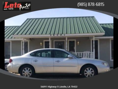 2005 Buick LaCrosse CX for sale at Leto Auto in Amite LA