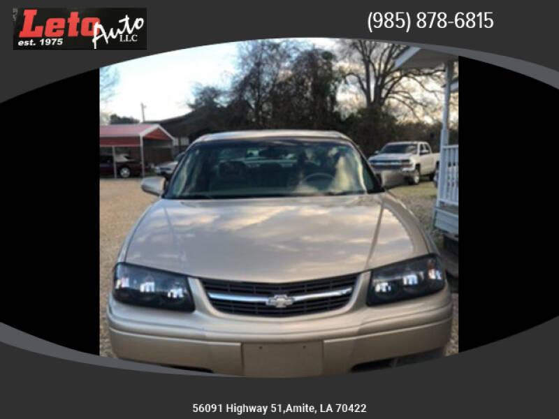 2005 Chevrolet Impala LS (image 1)