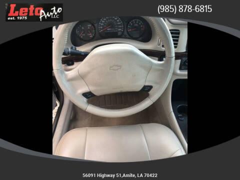 2005 Chevrolet Impala LS for sale at Leto Auto in Amite LA