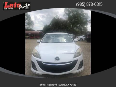 2010 Mazda MAZDA3 for sale at Leto Auto in Amite LA