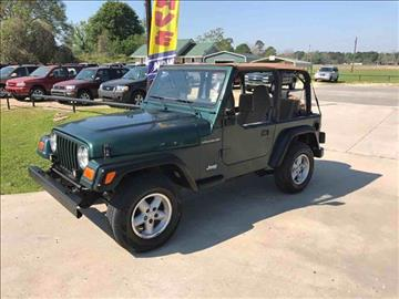 1999 jeep wrangler for sale for Parkway motors used cars panama city fl