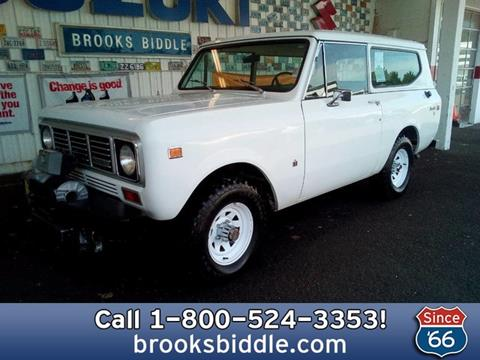 1976 International Scout for sale in Bothell, WA