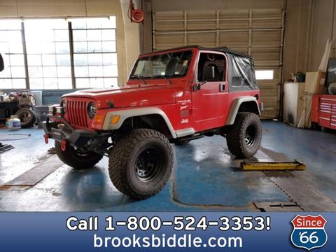 2001 Jeep Wrangler for sale in Bothell, WA