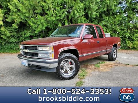 1997 Chevy Silverado For Sale >> 1997 Chevrolet C K 1500 Series For Sale In Bothell Wa