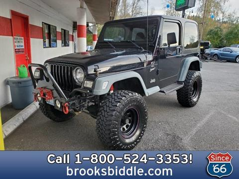 1999 Jeep Wrangler for sale in Bothell, WA
