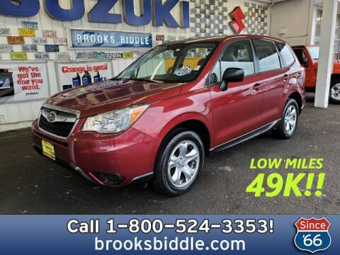 2015 Subaru Forester 2.5i for sale at BROOKS BIDDLE AUTOMOTIVE in Bothell WA