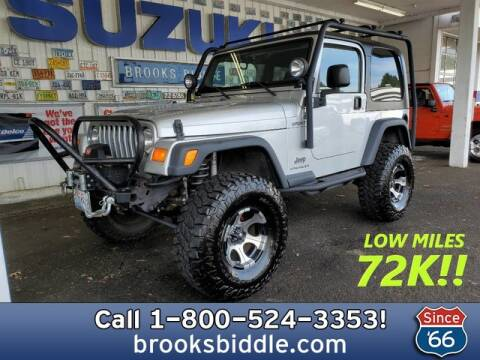 2006 Jeep Wrangler Sport for sale at BROOKS BIDDLE AUTOMOTIVE in Bothell WA