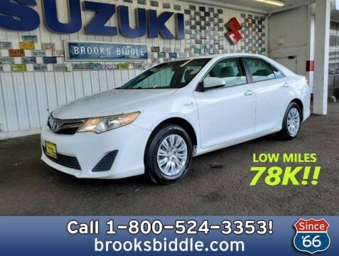 2012 Toyota Camry Hybrid for sale at BROOKS BIDDLE AUTOMOTIVE in Bothell WA