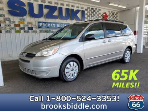 2005 Toyota Sienna for sale at BROOKS BIDDLE AUTOMOTIVE in Bothell WA