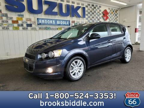 2016 Chevrolet Sonic for sale at BROOKS BIDDLE AUTOMOTIVE in Bothell WA