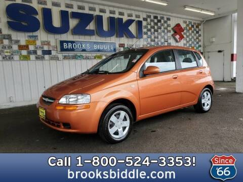 2006 Chevrolet Aveo for sale at BROOKS BIDDLE AUTOMOTIVE in Bothell WA