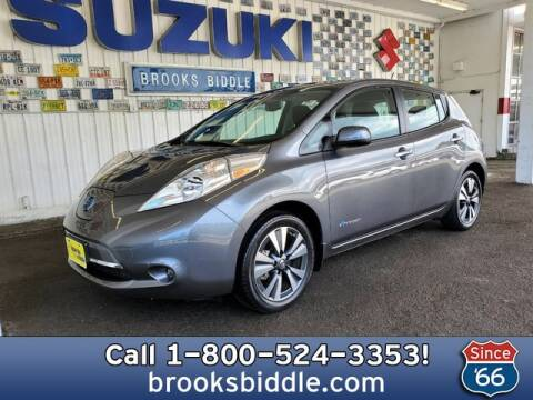 2017 Nissan LEAF for sale at BROOKS BIDDLE AUTOMOTIVE in Bothell WA
