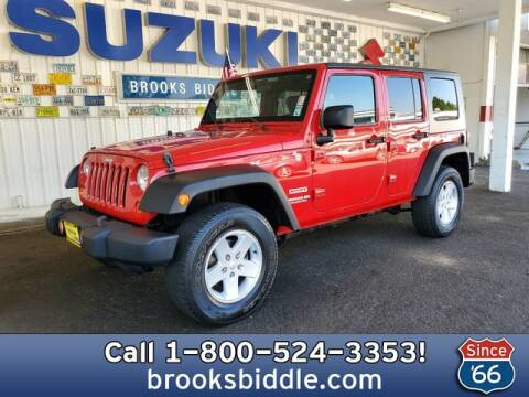 2010 Jeep Wrangler Unlimited for sale at BROOKS BIDDLE AUTOMOTIVE in Bothell WA