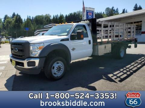 2015 Ford F-550 Super Duty for sale at BROOKS BIDDLE AUTOMOTIVE in Bothell WA