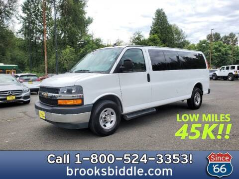 2019 Chevrolet Express Passenger for sale at BROOKS BIDDLE AUTOMOTIVE in Bothell WA