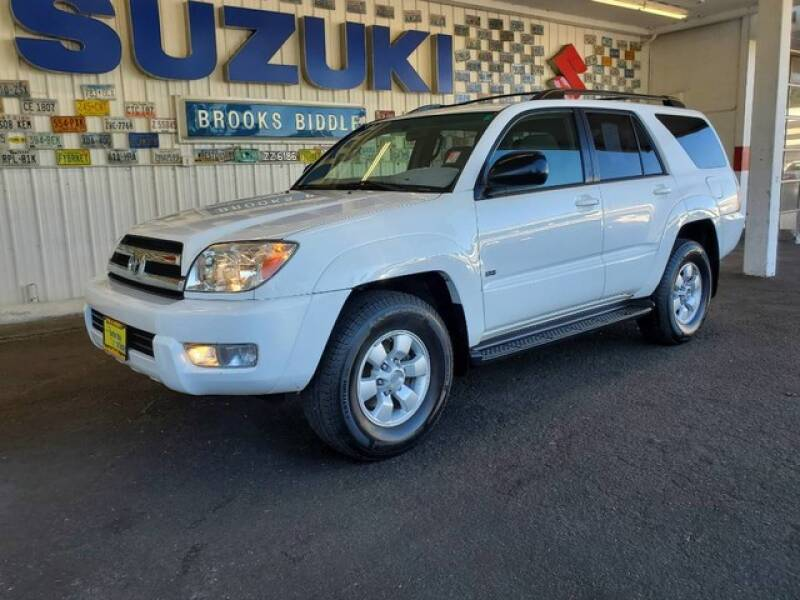 2005 Toyota 4Runner for sale at BROOKS BIDDLE AUTOMOTIVE in Bothell WA