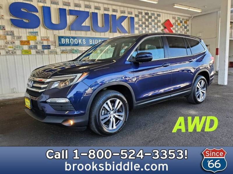 2017 Honda Pilot for sale at BROOKS BIDDLE AUTOMOTIVE in Bothell WA